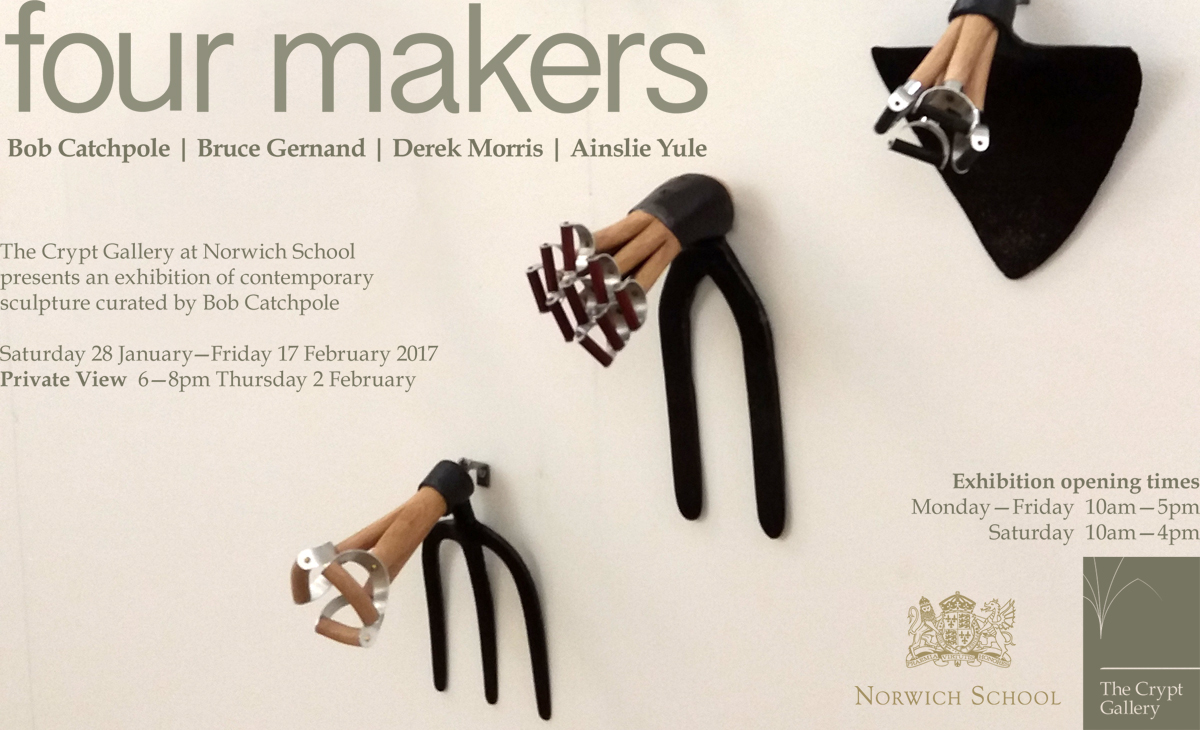 four makers | Sat 28 Jan - Fri 17 Feb 2017
